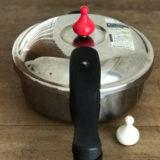 活力鍋と白いおもり