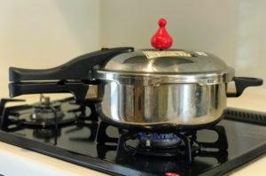 活力鍋を弱火で加熱