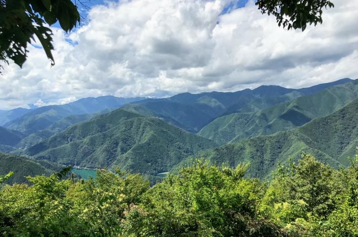 檜原村の山々