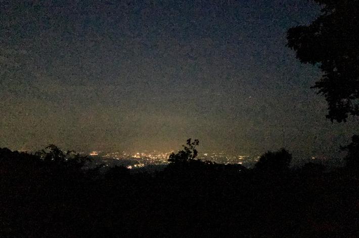 頂上からの夜景