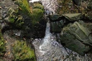 6号路の水の流れ