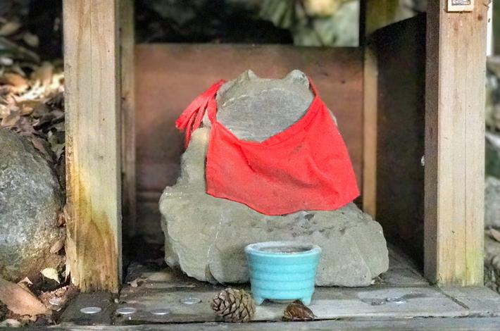 蛙地蔵の写真