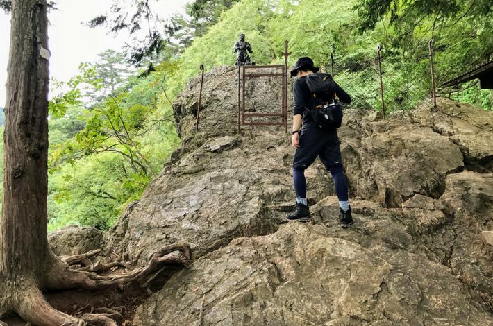 天狗岩の頂上