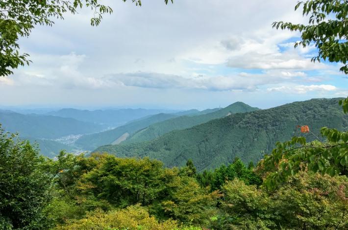 御岳平からの展望