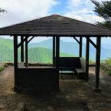 御岳山 長尾平の展望台