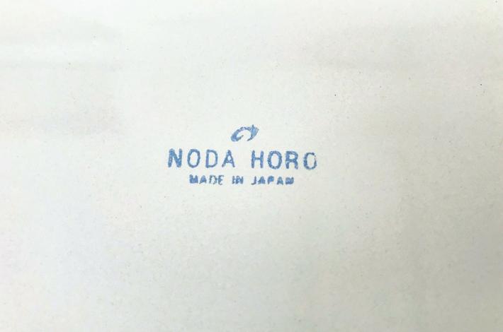 野田琺瑯レクタングル裏側のロゴ