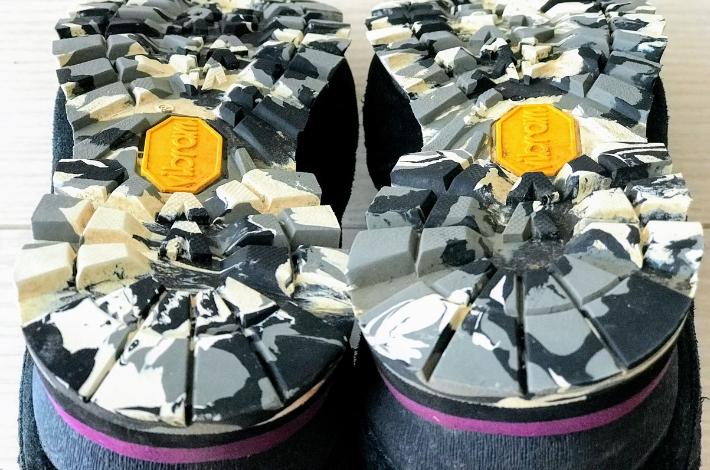 コロンビア カラサワIIプラスオムニテックの靴底